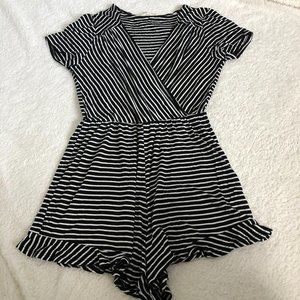 *AVAIL. UNTIL 2/17* Rolla Coster Striped Romper